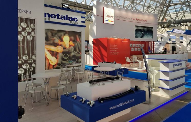 Salon MIMS Automechanika Moscou